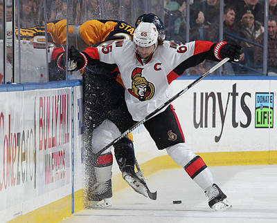 Photograph - Ottawa Senators V Buffalo Sabres by Bill Wippert