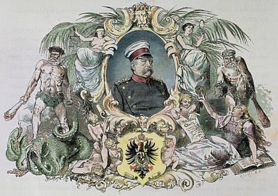 Otto-leopold Bismarck, Prince Art Print by Prisma Archivo
