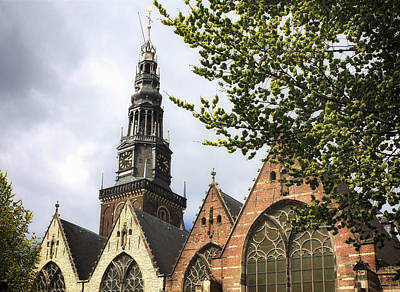 Photograph - Oude Kerk Amsterdam by Shirley Mitchell
