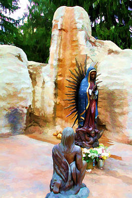 Our Lady Of Guadalupe Original by John Freidenberg
