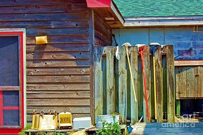 Out To Dry Art Print by Debbi Granruth