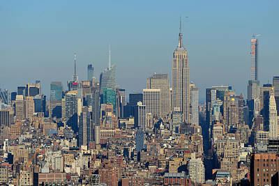 Photograph - Overlooking Midtown Manhattan by Yue Wang