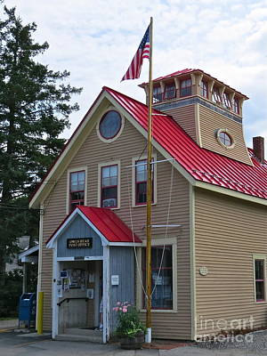 Photograph - Owl's Head Post Office  by Nancy Patterson