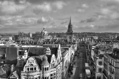 Photograph - Oxford High Street by Chris Day