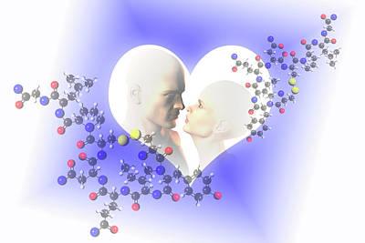 Oxytocin Art Print by Carol & Mike Werner
