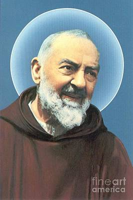 Padre Pio Photograph - P by Archangelus Gallery