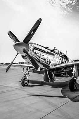 P51c Mustang Original by Chris Smith