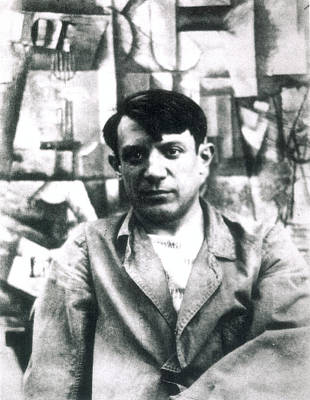 Pablo Picasso (1881-1973) Print by Granger
