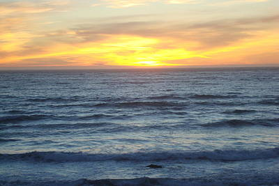 Photograph - Pacific Sunset by Susan Woodward