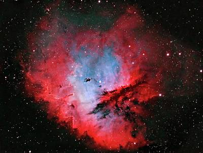 Pacman Wall Art - Photograph - Pacman Nebula by J-p Metsavainio/science Photo Library