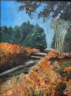 Painting - Paesaggio by Niki Mastromonaco