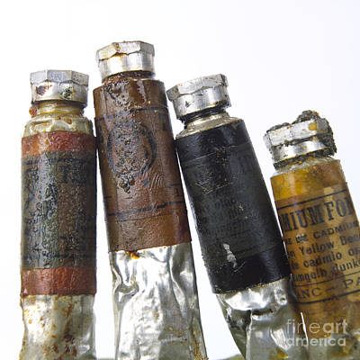 Photograph - Paint Tubes by Bernard Jaubert
