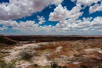 Photograph - Painted Desert 14 by Robert Hebert