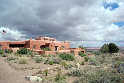 Photograph - Painted Desert Inn by Susan Woodward