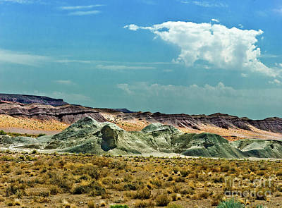 Grandview Digital Art - Painted Desert National Park by Bob and Nadine Johnston