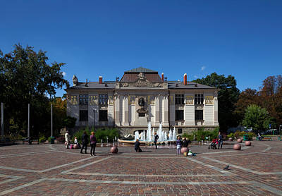 Palac Sztuki - The Palace Of Art Print by Panoramic Images