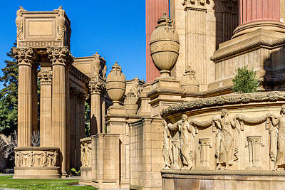 Photograph - Palace Of Fine Arts IIi  by Bill Gallagher