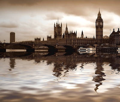 Westminster Palace Photograph - Palace Of Westminster by Sharon Lisa Clarke