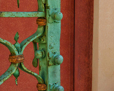 Photograph - Palazzo Reale Gate by Herb Paynter