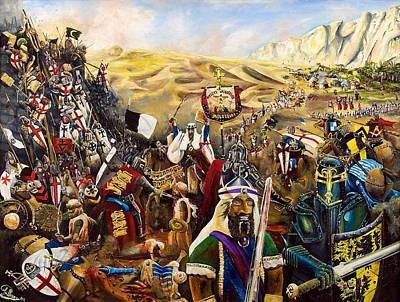 The Crusades Painting - Crusades by John