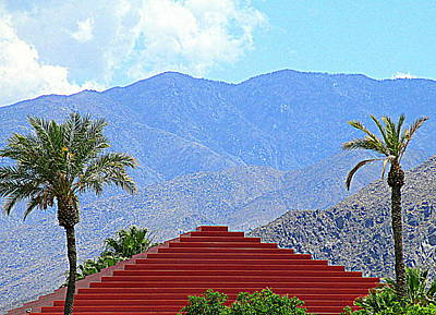 Photograph - Palm Springs Pyramid by Randall Weidner