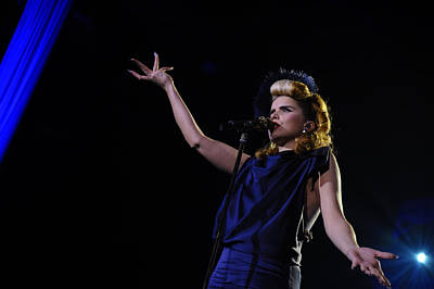 Photograph - Paloma Faith by Jenny Potter