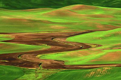 Palouse View From Steptoe Butte Art Print