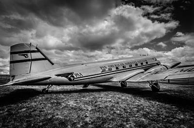Plane Photograph - Pan American Airways Dc3 by Puget  Exposure