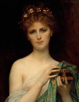 Boxes Painting - Pandora by Alexandre Cabanel