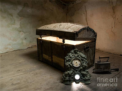 Treasure Box Photograph - Pandora's Box by Sinisa Botas