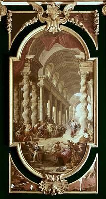 Pannini, Giovanni Paolo 1691-1765 Art Print