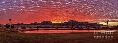 Photograph - Panoramic Sunrise by Robert Bales