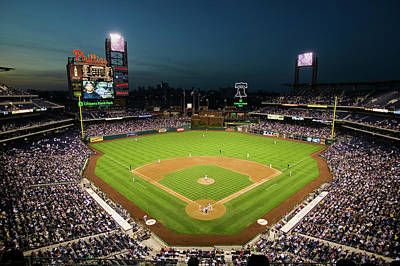 Citizens Bank Park Photograph - Panoramic View Of 29,183 Baseball Fans by Panoramic Images