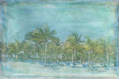 Beach Landscape Painting - Paradise by Ramona Murdock