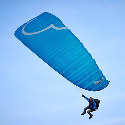 Photograph - Paragliders by Jouko Lehto