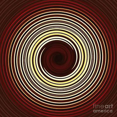Parallel Curves Art Print