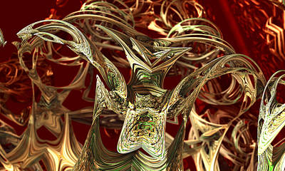 Modern Microscopic Art Photograph - Parasite by Kevin Trow