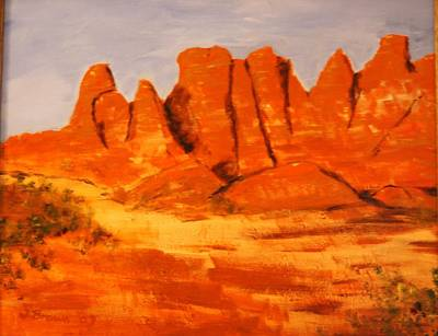Painting - Paria Canyon by W William Brown Jr