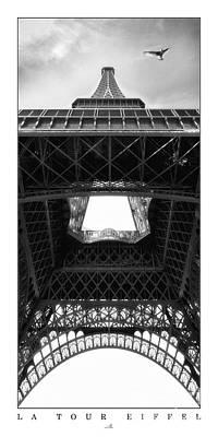 Paris - La Tour Eiffel Art Print by ARTSHOT - Photographic Art