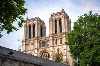 Photograph - Notre Dame by Bill Howard