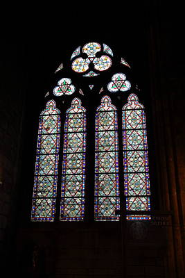 Paris France - Notre Dame De Paris - 01133 Art Print