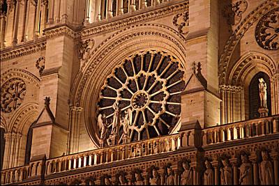Paris France - Notre Dame De Paris - 01134 Art Print