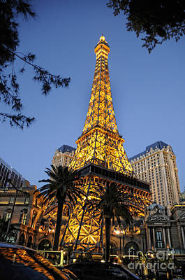 Photograph - Paris In The Desert by Brenda Kean