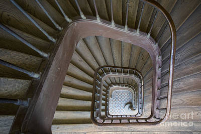 Photograph - Paris Staircase by Brian Jannsen