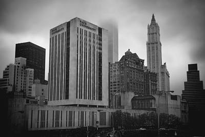 Photograph - 1  Park Plaza And The Woolworth by Joann Vitali
