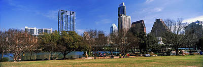 Metropolitan Park Photograph - Park With Skyscrapers by Panoramic Images