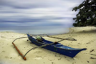 Parked Canoe Original by Jerome Obille