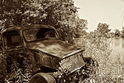 Photograph - Parking by William Norton