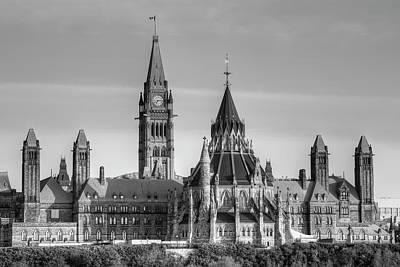 Canadian Parliament Photograph - Parliament Buildings Of Canada  Ottawa by David Chapman