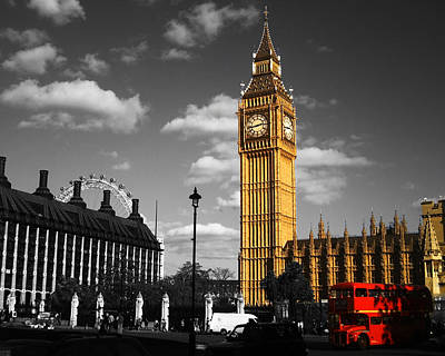 Photograph - Parliament Square by Chris Day
